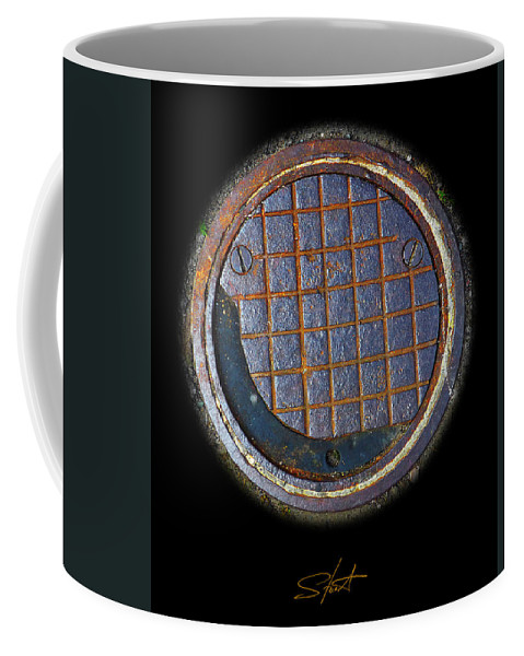 Smiley Coffee Mug featuring the photograph Smiley Face by Charles Stuart