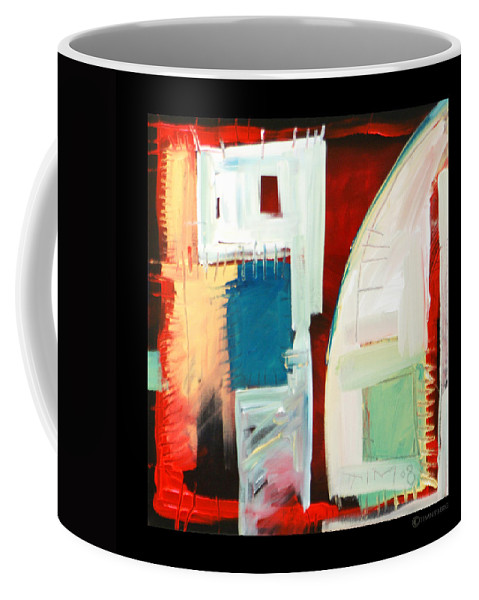 Color Coffee Mug featuring the painting Smilin by Tim Nyberg