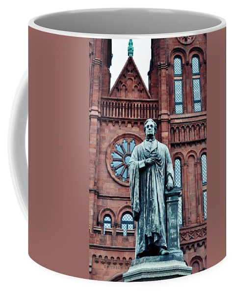 Smithsonian Castle Coffee Mug featuring the photograph Smithsonian Castle by Kyle Hanson