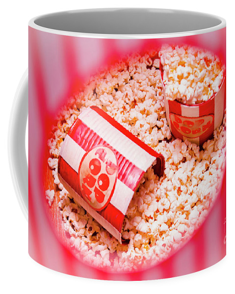 Entertainment Coffee Mug featuring the photograph Snack Bar Pop Corn by Jorgo Photography - Wall Art Gallery