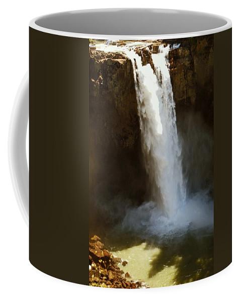 Waterfall Coffee Mug featuring the photograph Snoqualmie Falls Washington by Gary Wonning