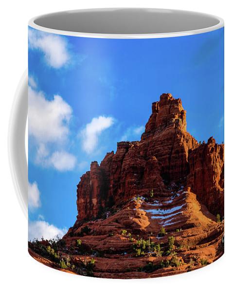 Jon Burch Coffee Mug featuring the photograph Snow Bell by Jon Burch Photography