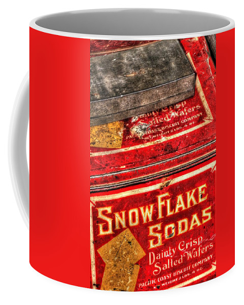 Or Coffee Mug featuring the photograph Snow Flake Sodas 767 by Jerry Sodorff