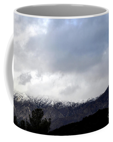 Clay Coffee Mug featuring the photograph Snow Line by Clayton Bruster