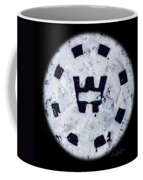 Black Coffee Mug featuring the photograph Snow Spirit by Charles Stuart