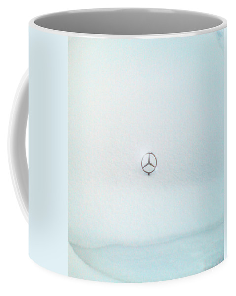 Snow Coffee Mug featuring the photograph Snow Star by Are Lund