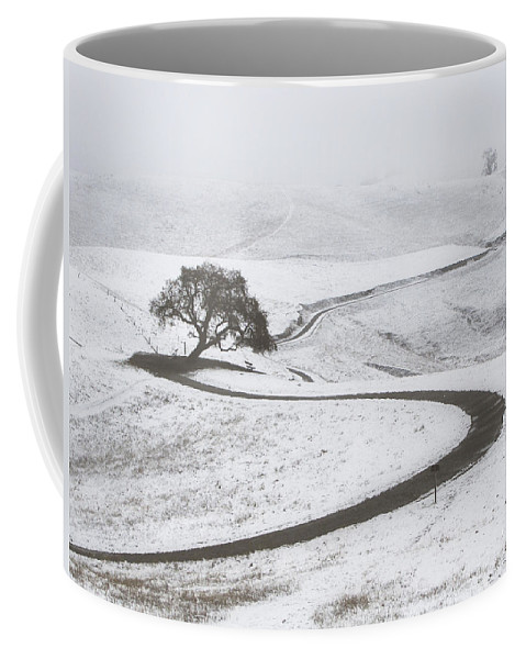 Snow Coffee Mug featuring the photograph Snow Without You by Karen W Meyer