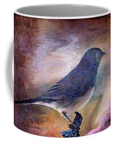 Inspirational Coffee Mug featuring the photograph Snowbird Stories... by Arthur Miller