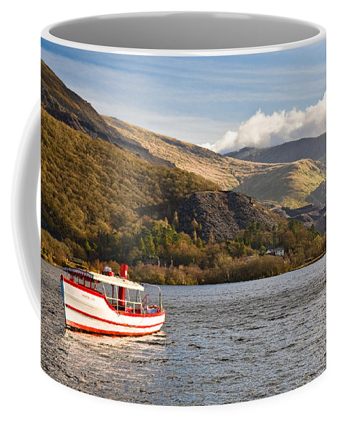 Snowdonia Coffee Mug featuring the photograph Snowdon Star by Dave Bowman