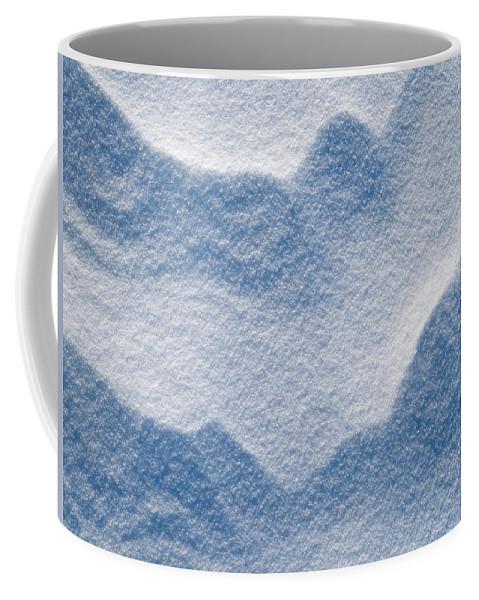 Talvi Coffee Mug featuring the photograph Snowforms 3 by Jouko Lehto