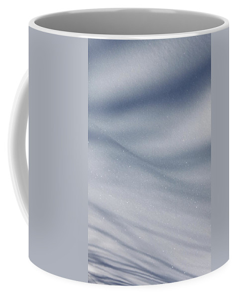 Snow Coffee Mug featuring the photograph Snowy Shadows 2 by Lauri Novak