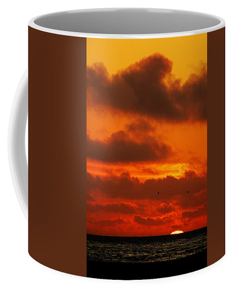Clay Coffee Mug featuring the photograph Socal Sunset by Clayton Bruster