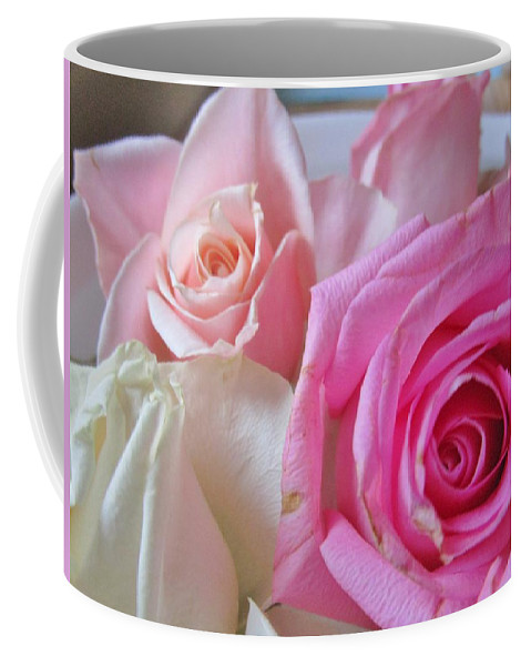 Roses Coffee Mug featuring the photograph Soft And Sweet by Rosita Larsson