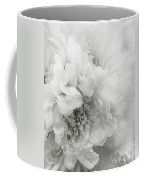 Dahlia Coffee Mug featuring the photograph Soft Dahlia White by Arlene Carmel