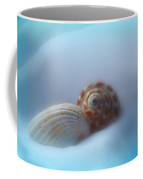 Nature Coffee Mug featuring the photograph Soft Shells by Linda Sannuti