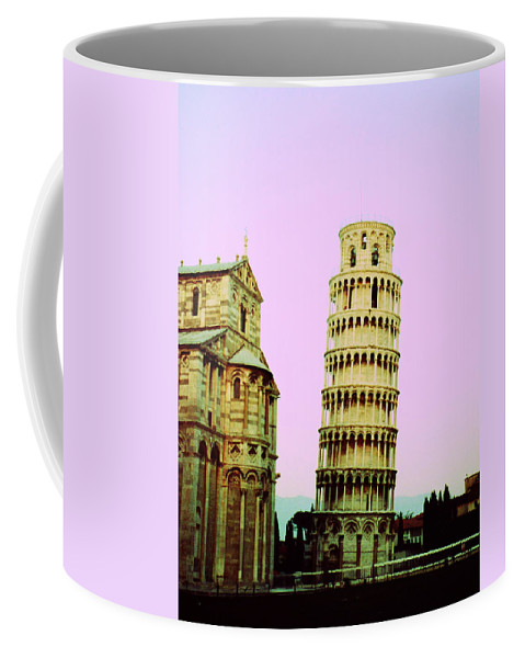 Pisa Coffee Mug featuring the photograph Softly Pisa by Marna Edwards Flavell