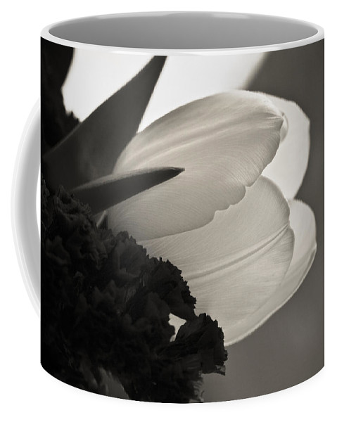 Floral Coffee Mug featuring the photograph Lit Tulip by Marilyn Hunt