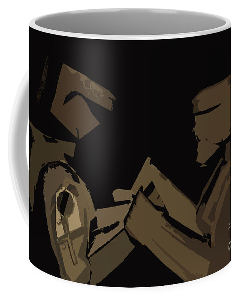Digital Photographs Coffee Mug featuring the digital art Sokem by Kim Henderson