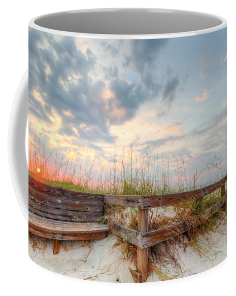 Clouds Coffee Mug featuring the photograph Sol Mate by Gary Oliver