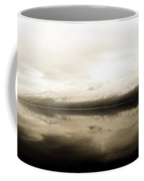 Mountain Coffee Mug featuring the photograph Solace by Trance Blackman