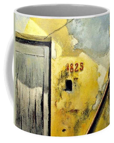 Havana Coffee Mug featuring the painting Solana by Tomas Castano