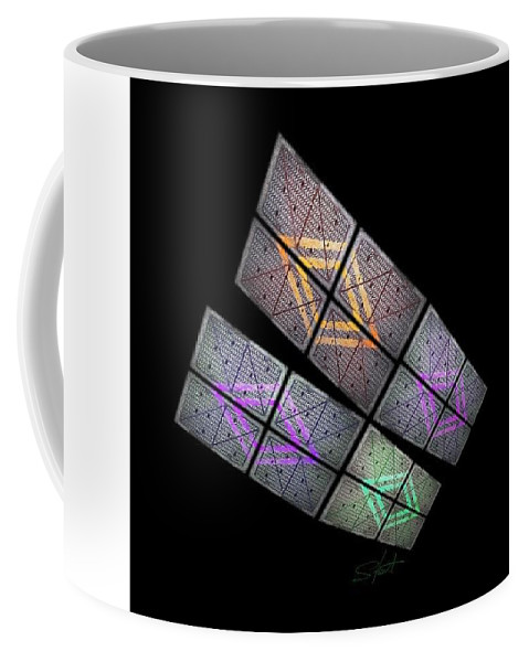 Wings Coffee Mug featuring the photograph Solar Wings by Charles Stuart