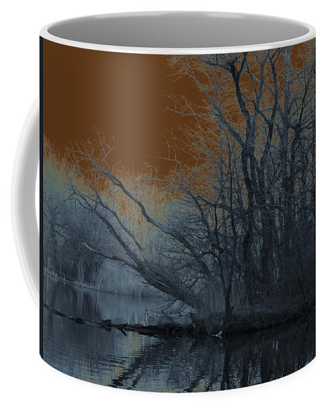 Solarization Coffee Mug featuring the photograph Solarization by Kendall Eutemey