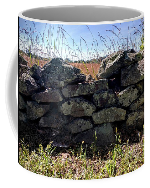 Gettysburg Coffee Mug featuring the photograph Soldier's View Of The Battlefield by Paul Kercher