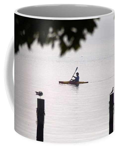 Clay Coffee Mug featuring the photograph Solitude by Clayton Bruster