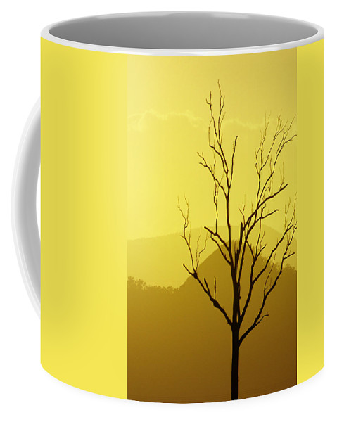 Landscape Coffee Mug featuring the photograph Solitude by Holly Kempe