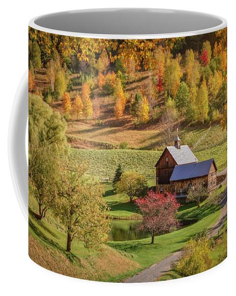 Bridges Coffee Mug featuring the photograph Solitude by Jason Dodd