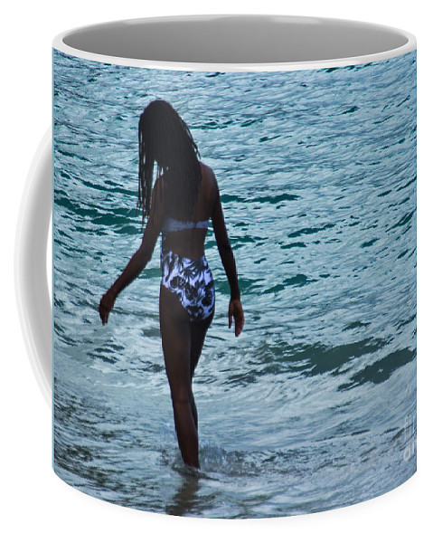 Girl Coffee Mug featuring the photograph Solitude by Kris Hiemstra