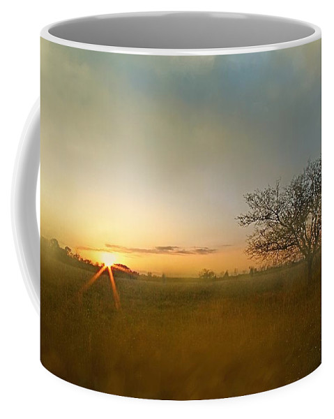 Fog Coffee Mug featuring the photograph Solitude by Lisa Comperry