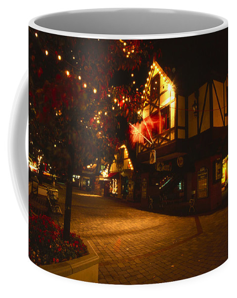 Solvang Ca. Coffee Mug featuring the photograph Solvang California by Soli Deo Gloria Wilderness And Wildlife Photography