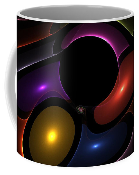 Impressionism Coffee Mug featuring the painting Somethings Missing by Steve K