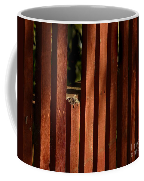 California Scenes Coffee Mug featuring the photograph Somethin's Missing by Norman Andrus