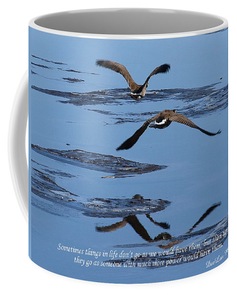 Water Coffee Mug featuring the photograph Sometimes Things In Life... by DeeLon Merritt