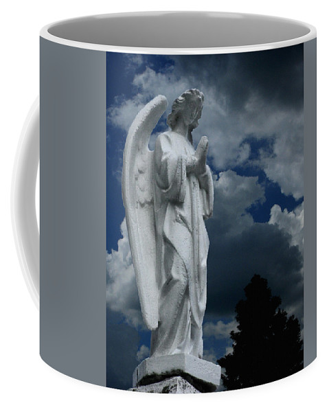 Somewhere Between Heaven And Earth Coffee Mug featuring the photograph Somewhere Between Heaven And Earth by Peter Piatt