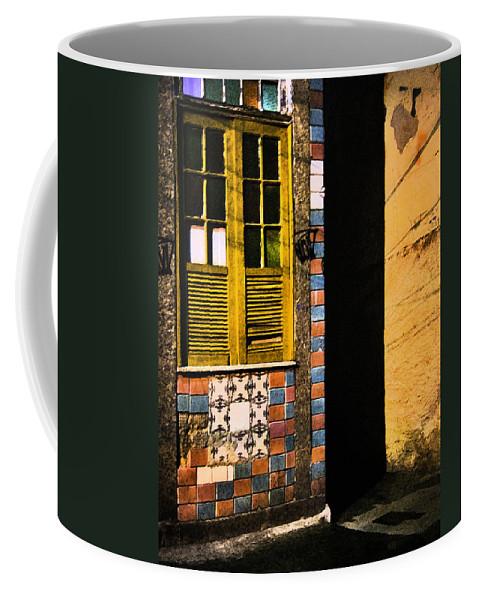 Fresco Coffee Mug featuring the photograph somewhere in Rio 2 by Sergio Bondioni