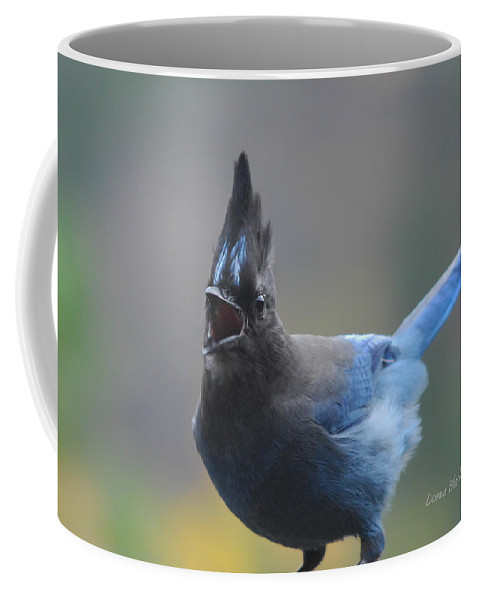 Bird Coffee Mug featuring the photograph Song From The Heart by Donna Blackhall