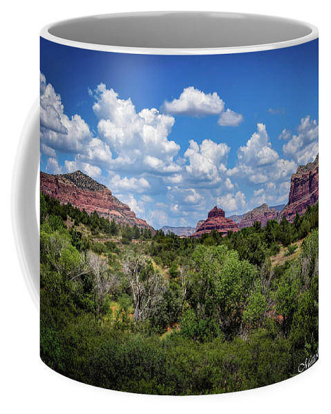 Landscape Photography Coffee Mug featuring the photograph Sonoran Countryside by Eric M Bass