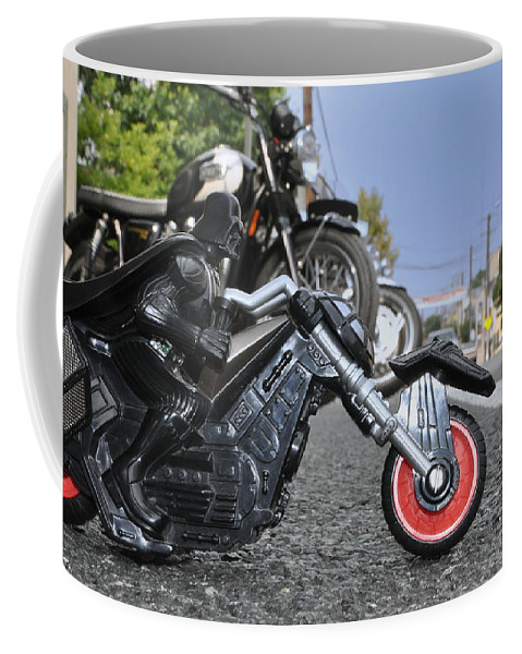 Darth Vader Coffee Mug featuring the photograph Sons Of The Sith by Bill Cannon