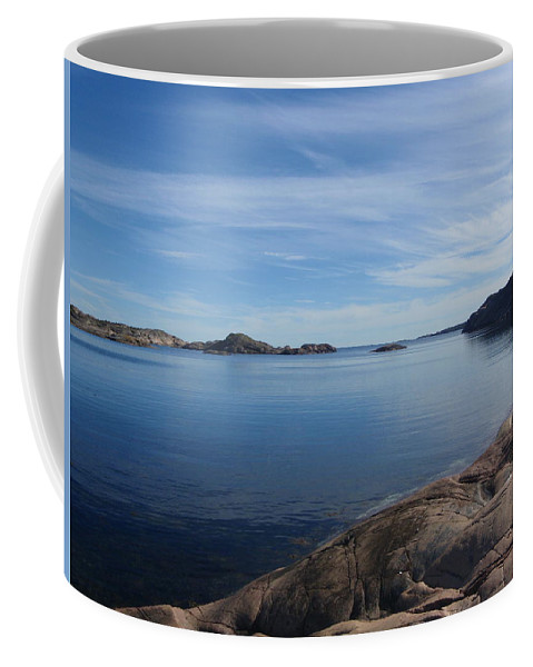 Vista Coffee Mug featuring the photograph Soon Afternoon by Are Lund