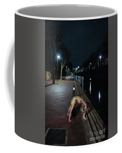 Fine Art Nude Coffee Mug featuring the photograph Sophie2 by Nocturnal Girls