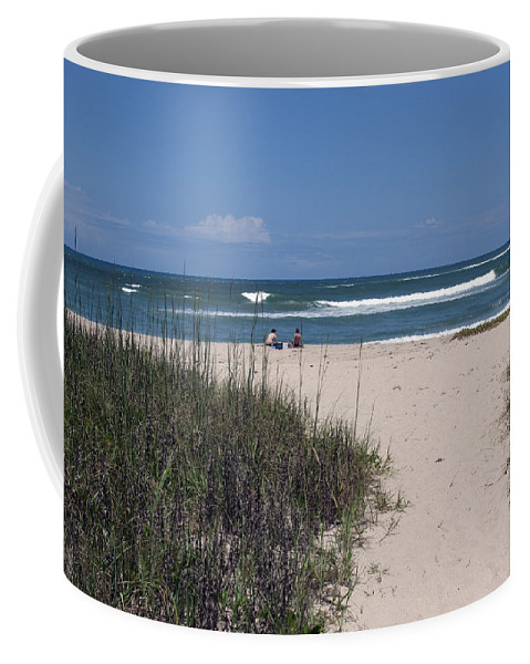 Florida Coffee Mug featuring the photograph South Beach by Allan Hughes