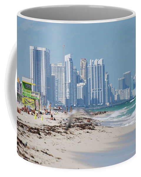 South Beach Coffee Mug featuring the photograph South Beach Baby by Rob Hans