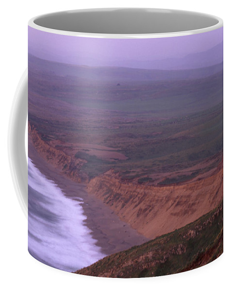 South Beach Coffee Mug featuring the photograph South Beach - Point Reyes National Seashore by Soli Deo Gloria Wilderness And Wildlife Photography