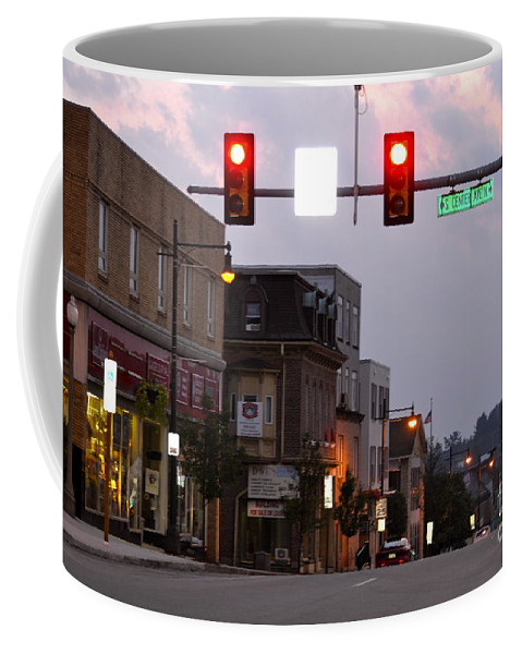 South Center Avenue Coffee Mug featuring the photograph South Center Avenue by Penny Neimiller