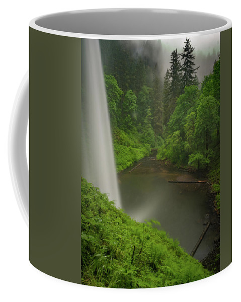 Michele James Photography Coffee Mug featuring the photograph South Falls Vista by Michele James