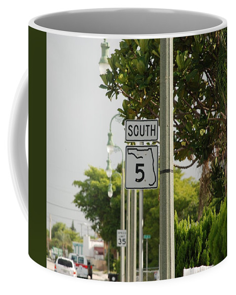 South Coffee Mug featuring the photograph South Florida 5 by Rob Hans